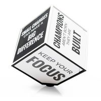 Motivation Cube - Kostka Motywacyjna (EN) - Pastelowy (5906660864585)