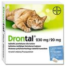 BAYER Drontal Plus Flavour tabletki na odrobaczenie dla kotów - oferta [35a343784705d5b0]