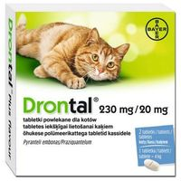 Bayer  drontal plus flavour tabletki na odrobaczenie dla kotów