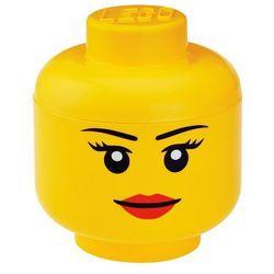 Pojemnik lego główka dziewczynka l - lego pojemniki marki Room copenhagen