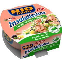 160g sałatka śródziemnomorska z tuńczykiem | darmowa dostawa od 200 zł, marki Rio mare