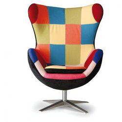 Fotel obrotowy rilla patchwork marki B2b partner
