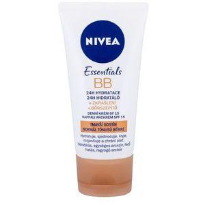 upiększające nawilżający 5 w 1 bb spf 10 (5w1 upiększania moisturizer) 50 ml (cień tmavší tón pleti) marki Nivea