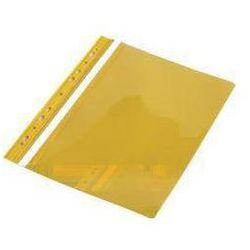 Skoroszyt A4 PVC z europerforacją żółty (10szt) - sprawdź w wybranym sklepie