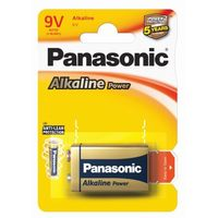 Panasonic 1 x  alkaline power 6lr61 / 9v (blister)