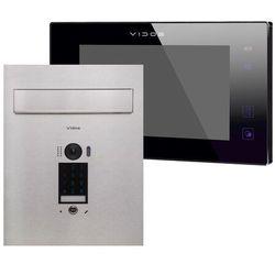 Wideodomofon skrzynka na listy z szyfratorem Vidos S1401D-SKP M1021B-2