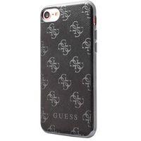 Guess Etui hard do iPhone 7 czarne (GUHCP74GGGU) Darmowy odbiór w 20 miastach! (3700740395905)