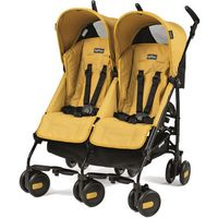 wózek pliko mini twin mod yellow od producenta Peg-perego