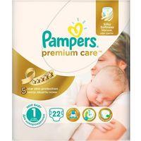 Pampers  pieluchy premiumcare newborn, rozmiar 1 , 22 sztuki (4015400687696)