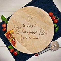 Heart pizza - Deska obrotowa - Deska obrotowa