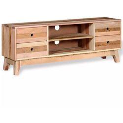 Szafka pod tv z drewna z odzysku z szufladami marki Vidaxl