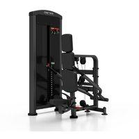 Maszyna na triceps ze stosem mp-u233 marbo professional - czarny marki Marbo sport