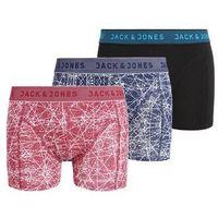 Jack & Jones JACDENNY TRUNKS 3 PACK Panty navy blazer, S-XXL