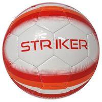 Piłka nożna AXER SPORT Striker Biało-Czerwony (rozmiar 5)
