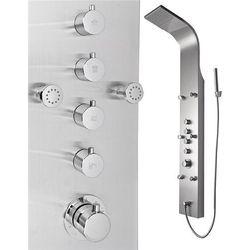 Inea Panel prysznicowy ze stali nierdzewnej in-8879