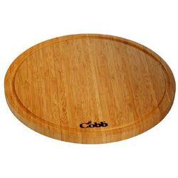 deska bambusowa o średnicy 34 cm - COBB oferta ze sklepu FOODLOVERS.PL