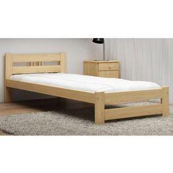 Łóżko ekologiczne drewniane Oliwia 80x200 nielakierowane