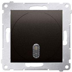 Dzwonek elektroniczny 230V~ Brąz mat - DDS1.01/46 Simon 54 Premium