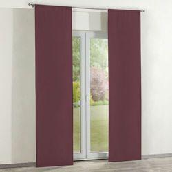 Dekoria  zasłony panelowe 2 szt., burgund, 60 x 260 cm, taffeta do -30%