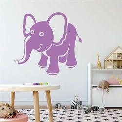 Naklejka na ścianę dla dzieci słonik 2272 marki Wally - piękno dekoracji