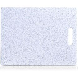 Szara deska do krojenia imitująca granit, plastikowa deska do krojenia, deska kuchenna, deska do serwowania, akcesoria kuchenne, ZELLER (4003368261492)