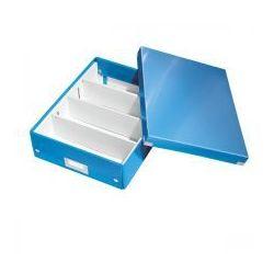 Esselte Pudło z przegródkami leitz c&s średnie niebieskie