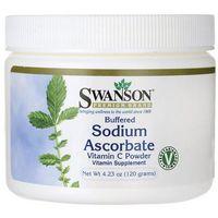 SWANSON Witamina C (buforowany L-askorbian sodu) 120g z kategorii Witaminy i minerały
