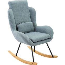 Regoline Szary nowoczesny fotel bujany krzesło na biegunach - szary