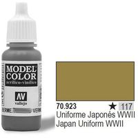 farba nr117 japan uniform 17ml wyprodukowany przez Vallejo