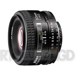 Nikon AF 50mm f/1,4 D Nikkor - produkt w magazynie - szybka wysyłka! z kategorii Obiektywy fotograficzne