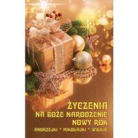 Życzenia na Boże Narodzenie Nowy Rok, książka w oprawie kartonowej