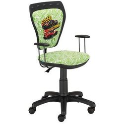 Obrotowe krzesło dziecięce ministyle - hot wheels 2 marki Nowy styl