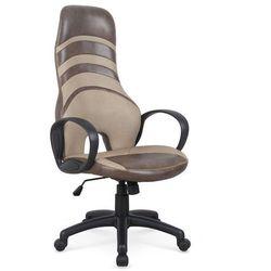 Fotel gabinetowy obrotowy donut - eko-skóra marki Halmar