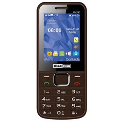 Maxcom  mm141 classic brązowy | pl | bez sim | faktura 23%, kategoria: pozostałe telefony i akcesoria