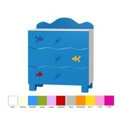 Komoda 3 szuflady OCEANIC