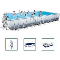 Bestway basen ogrodowy prostokątny power steel 52231l