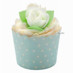 - blue note rosehip - deser kakaowy na 4 kąpiele - błękitna róża wyprodukowany przez Bomb cosmetics