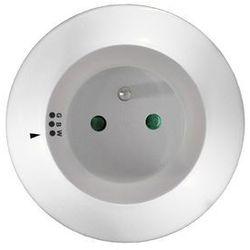 Solight nocne led światełko z gniazdkiem przelotow 3 barwy światła, czujnik + bezpłatna natychmiastowa gwarancja wymiany!
