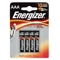Energizer 4 x bateria alkaliczna  base power seal lr03/aaa (blister)