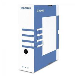 Pudełko archiwizacyjne 100mm Donau niebieskie, BP7354
