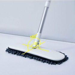 handy car home mop | mop teleskopowy z mikrofibry do czyszczenia samochodu domu - czarny marki Baseus