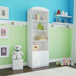 Regał do pokoju dziecięcego, pojedynczy, babydreams, 46 cm, biel, mat marki Kocotkids