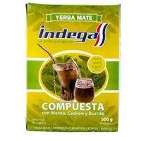 INDEGA COMPUESTA NATURAL 0,5KG Yerba mate, nowossy152