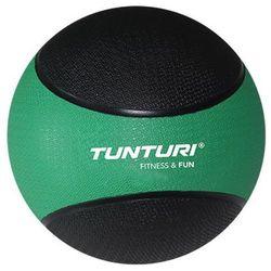 Tunturi Medicine Ball 2kg, Green/Black - sprawdź w wybranym sklepie