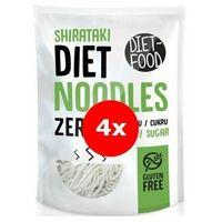 Makaron shirataki noodles zestaw 4x370g -  (5,97zł. za 1 szt.) marki Diet-food