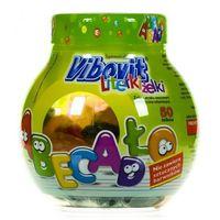 Vibovit Literki Żelki smak owocowy z witaminami żelki - 50 szt. - żelki witaminy i minerały