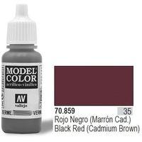 Vallejo Farba Nr35 Black Red Matt 17ml, kup u jednego z partnerów