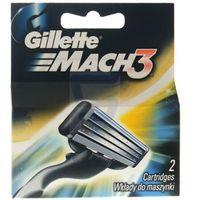 Gillette  2szt mach 3 wkłady do maszynki do golenia (3014260251970)