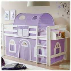 Ticaa kindermöbel Ticaa łóżko pietrowe timmy r buk, biały - fioletowy/biały