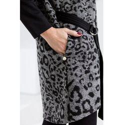 Myannie Sukienka Warm Touch, czarna